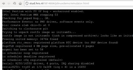 Lanzan un emulador de Linux en JavaScript con almacenamiento persistente