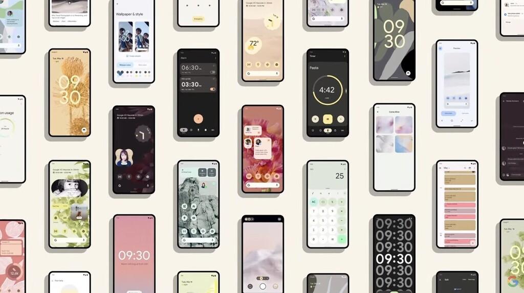 Android 12 renueva su scroll gracias a una patente desprotegida del iPhone
