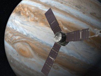 Así sonó la sonda espacial Juno cuando ingresó en la órbita de Júpiter