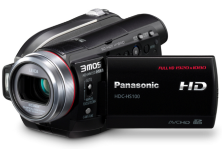 Videocámaras Panasonic HDC-SD100 y HDC-HS100