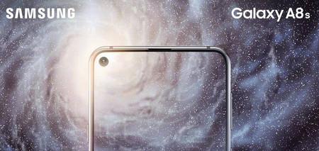 El Samsung Galaxy A8s se presentará el 10 de diciembre: esto es todo lo que se ha filtrado sobre el primer móvil con pantalla perforada