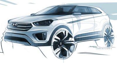 El Hyundai ix25 Concept ha evolucionado, ahora se llamará Creta y será así