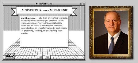 Activision mediagenic Bruce Davis