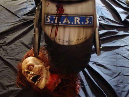 Moto mata-zombies de Resident Evil
