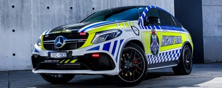 Mercedes Amg Gle Coupe Policia