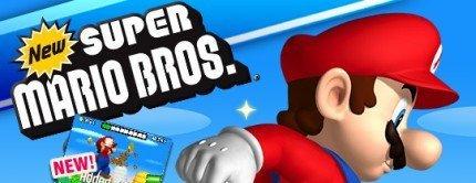 New Super Mario Bros. cuenta ya con su propia web