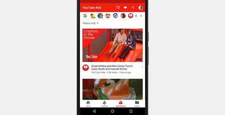 YouTube presenta la nueva interfaz que muy pronto todo el mundo disfrutará en Android
