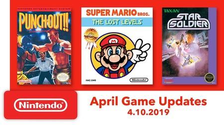Super Mario Bros.: The Lost Levels, Punch-Out!! y Star Soldier se unirán a los clásicos de NES en Nintendo Switch en abril