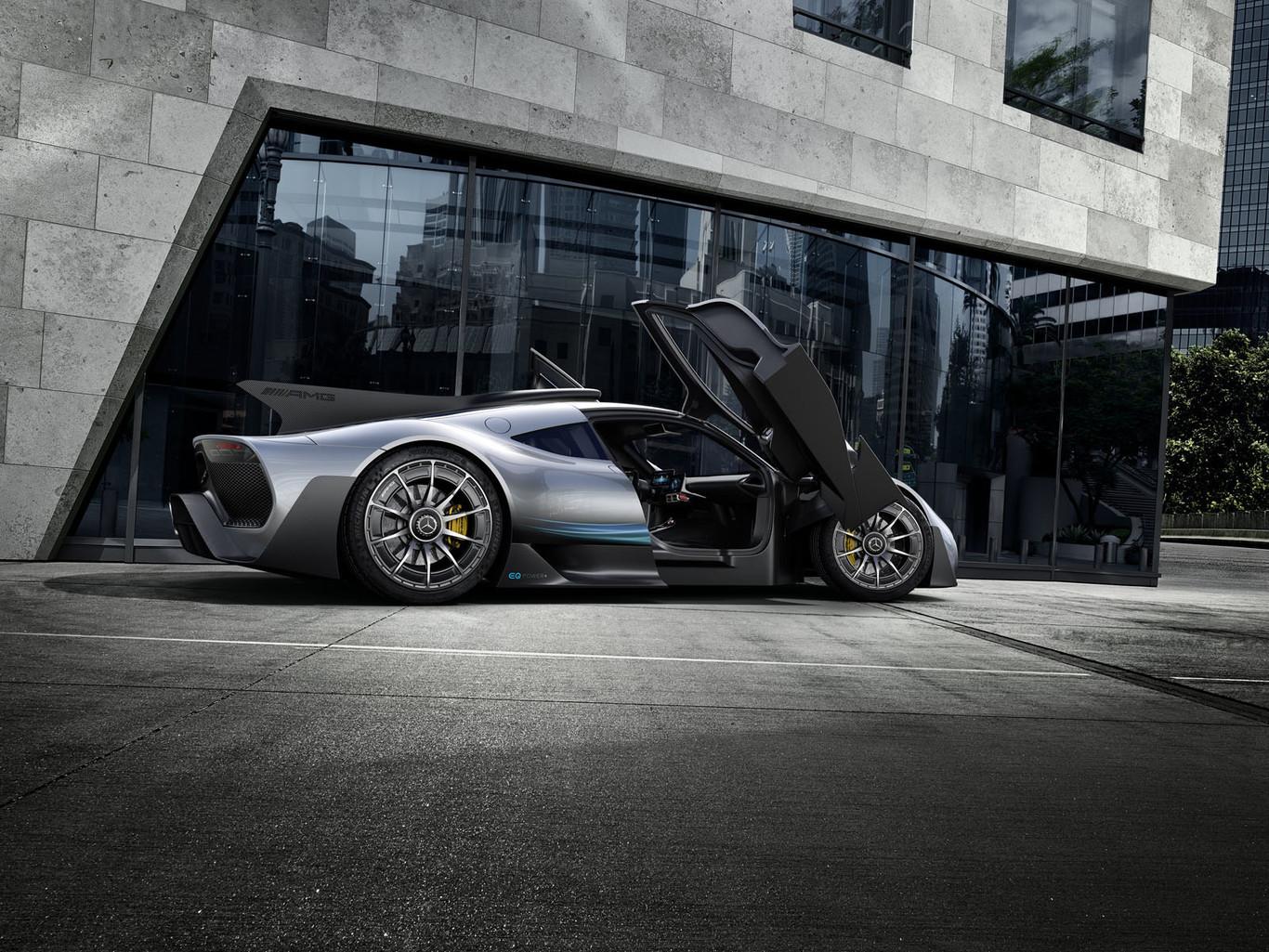 Foto de Mercedes-AMG Project One Conept: (9/11)