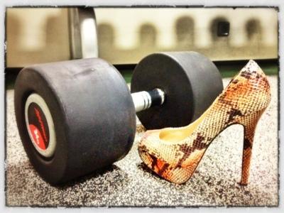 Chicas, perded el miedo a las pesas