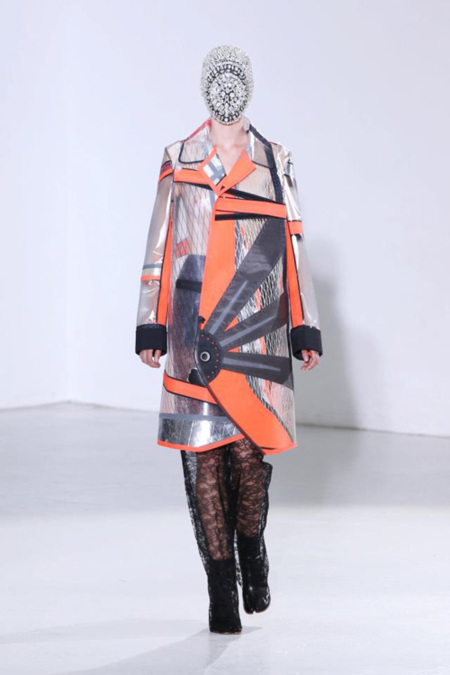 Maison Martin Margiela Alta Costura abrigo