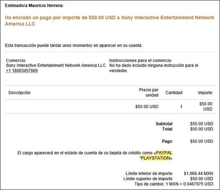 Usar tarjetas para desbloquear cuenta de PlayStation en México