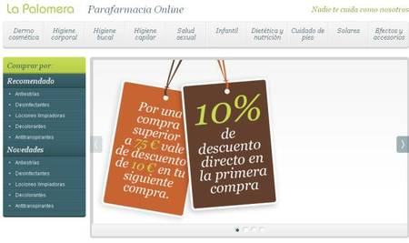 Parafarmacia ´La Palomera` con descuentos para tus compras