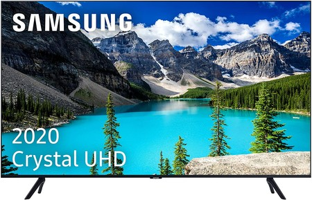 Samsung Crystal Uhd 2020 50tu8005 Smart Tv De 50 22 Con Resolucion 4k Hdr 10 Crystal Display Procesador 4k Purcolor Sonido Inteligente One Remote Control Y Asistentes De Voz Integrados Clase De Eficiencia Energetica A