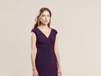 Por 59,95 euros tenemos este elegante vestido Adara de  Ralph Lauren en Zalando