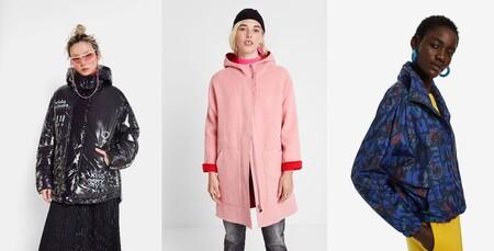 Flash Sale con 60% de descuento en Desigual para abrigos, chaquetas, vestidos y sudaderas