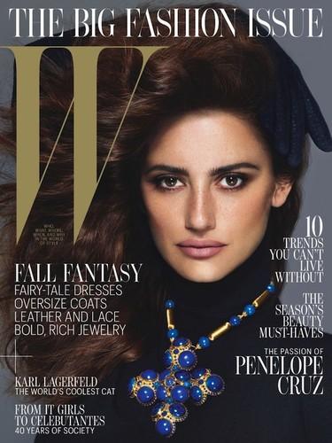 ¿Una imagen de los 90? No, Penélope Cruz para W Magazine