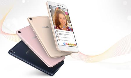 Asus Zenfone Live, un móvil básico que pone especial acento en los selfies