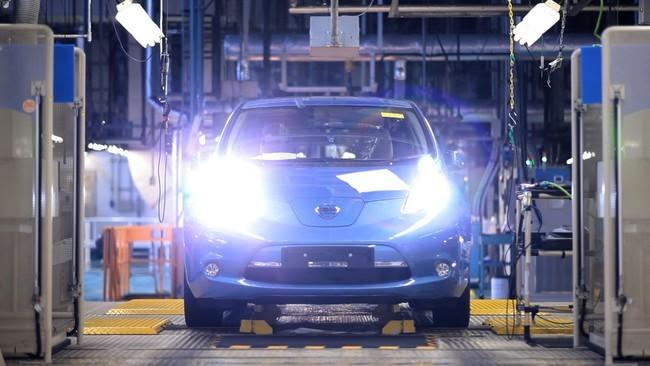 Nissan LEAF, planta de Smyrna, Tennessee