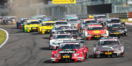 Salida Dtm Nurburgring 2015