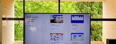 Primera vez fuera de las tiendas: así es la experiencia Today at Apple en la Fundació Joan Miró de Barcelona