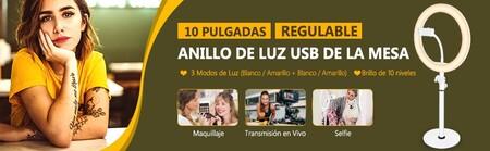 Aro de luz Neewer en promoción en Amazon México
