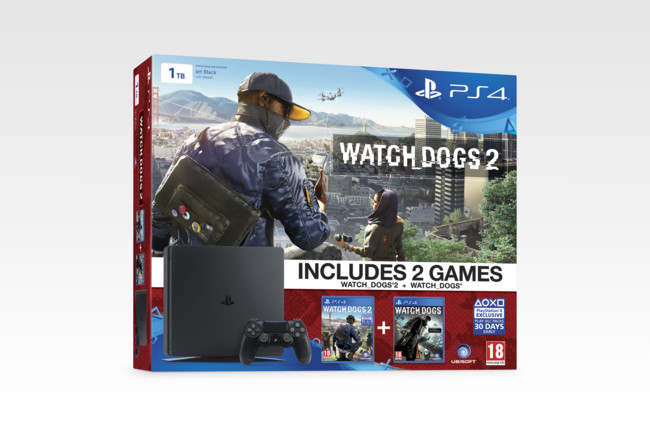 Ps4 Slim Watch Dogs 2