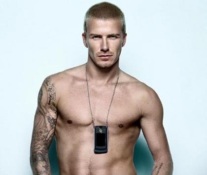 Beckham enseña pectorales