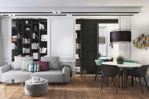 Una vivienda con espacios pequeños y resueltos para la comodidad de una persona con movilidad reducida