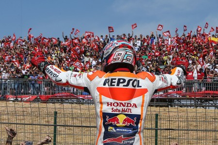 Marc Marquez Gp Aragon Motogp 2017