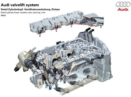 nuevo motor Audi