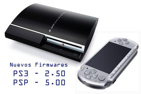 Nuevos firmwares para PSP y PS3. Todos sus detalles