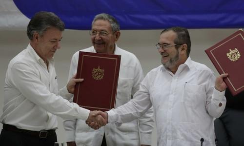 Esto es lo que las FARC y el gobierno habían acordado para poner fin al conflicto armado en Colombia