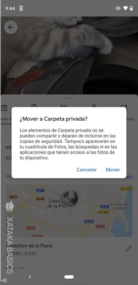 Confirmar Mover