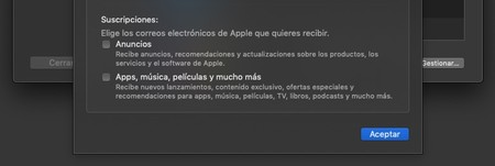 Promo Apple Macos