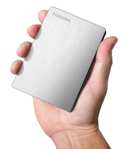Toshiba consigue meter 3 TB en 2.5 pulgadas con su disco Canvio Connect 2