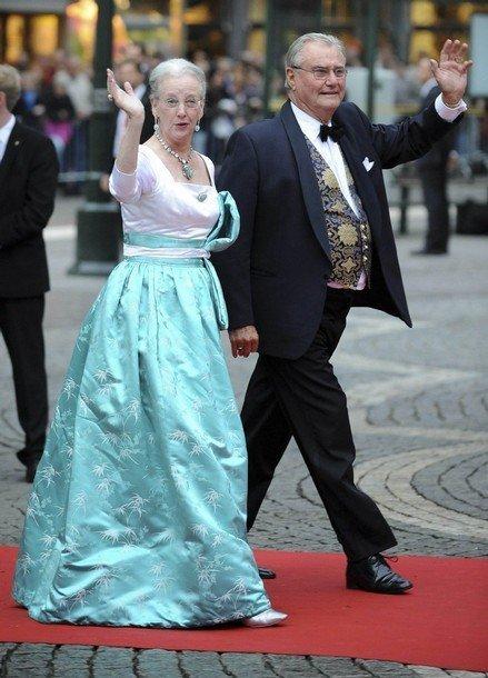 Boda de la Princesa Victoria de Suecia: Reina Dinamarca
