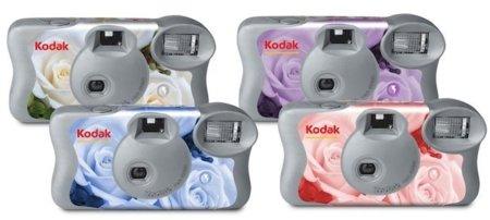 Cámaras Kodak de un solo uso para las bodas