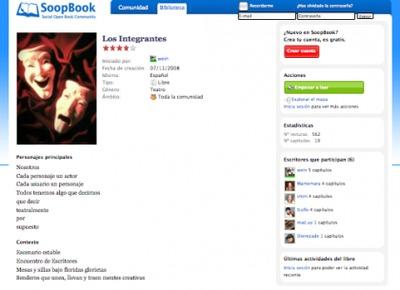 SoopBook: plataforma para hacer libros en colaboración