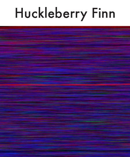 Huckleberry Finn.