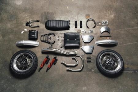 Moto Guzzi V7 Ii Scrambler Kit