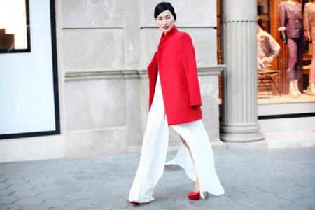 Tendencias low cost Otoño-Invierno 2013/2014: un abrigo rojo pasión