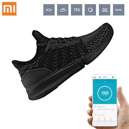 Zapatillas deportivas Xiaomi Mijia Smart Shoes, con chip Amazfit y Bluetooth, por 45 euros