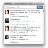 Facebook lanza un cliente de escritorio basado en Adobe Air