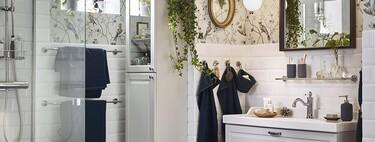 Muebles altos para el cuarto de baño o cómo ganar espacio de almacenaje en el cuarto de baño con estilo