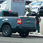 ¡Espiada! La Ford Maverick se pasea sin camuflaje: así luce un Bronco Sport convertido en pick-up