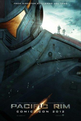 Teaser póster de Pacific Rim, de Guillermo del Toro