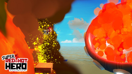 Super Red Hot Hero Finish Line Screenshot