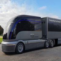 El Hyundai HDC-6 Neptune Concept es un vanguardista camión de hidrógeno para asaltar el transporte de mercancías