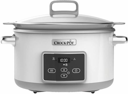 En Amazon tenemos la olla de cocción lenta Crock-Pot Duraceramic Csc026X rebajada: por 89,90 euros